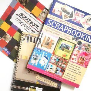 2/$20 Lot of Three Scrapbooking Design Books